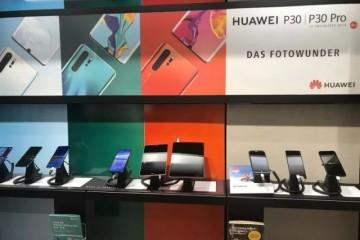 在手机店偶遇P30店员华为是咱们一切在售产品中最好的