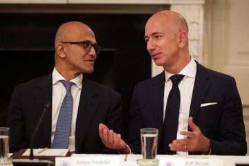 疫情致市场疲软亚马逊和微软第一季度股价逆市上涨