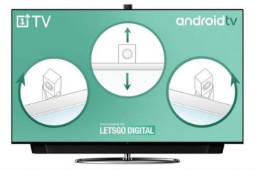 一加电视新专利曝光配置弹出式旋转摄像头