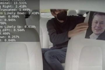 特斯拉发布司机监控系统使用驾驶室内摄像头确保自动驾驶安全